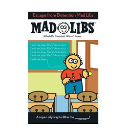 Escape from Detention Mad Libs