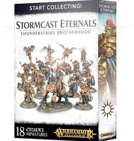 Games Workshop Start Collecting: Stormcast Eternals Thunderstrike Brotherhood