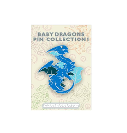 Baby Dragon Pin (Blue)