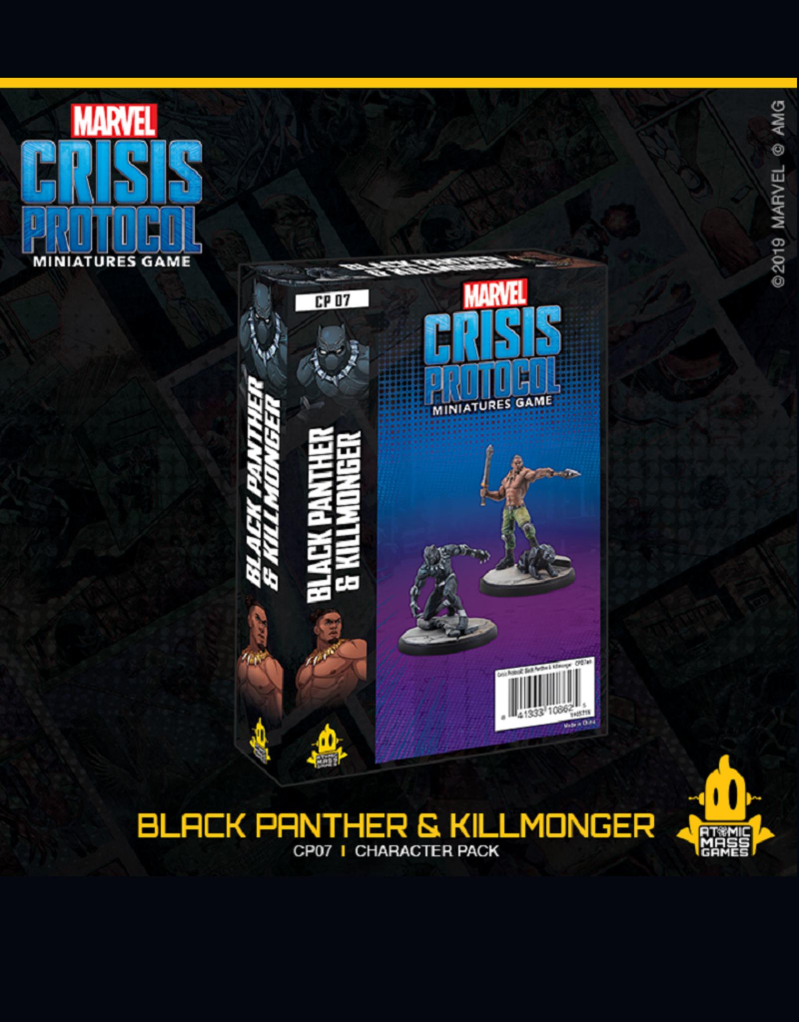 Marvel Crisis Protocol (Black Panther and Killmonger)