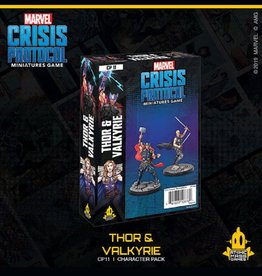 Atomic Mass Games Marvel Crisis Protocol (Thor and Valkyrie)