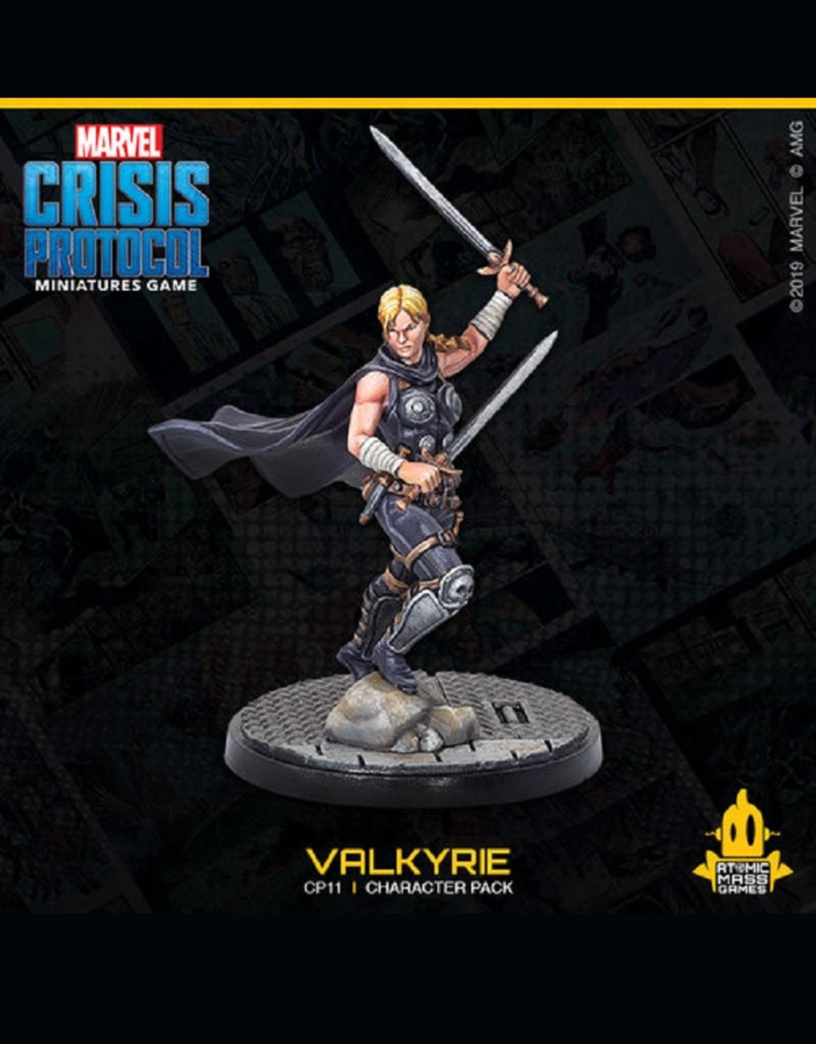 Marvel Crisis Protocol (Thor and Valkyrie)