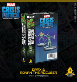 Atomic Mass Games Marvel Crisis Protocol (Drax and Ronan the Accuser)