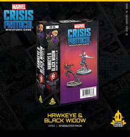 Atomic Mass Games Marvel Crisis Protocol (Hawkeye and Black Widow)