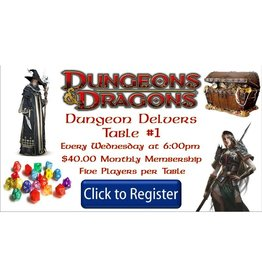 Dungeons & Dragons (Wednesday Table 1)