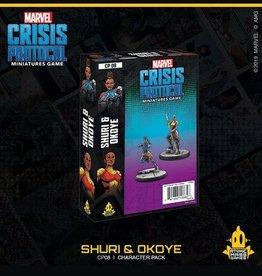 Atomic Mass Games Marvel Crisis Protocol (Shuri and Okoye)