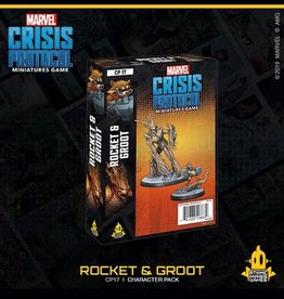 Atomic Mass Games Marvel Crisis Protocol (Rocket and Groot)