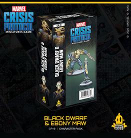 Atomic Mass Games Marvel Crisis Protocol (Black Dwarf and Ebony Maw)