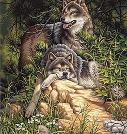 Paint Works Wild & Free Wolves