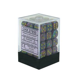 12mm D6 Dice Block (Festive Mosaic w/Yellow)