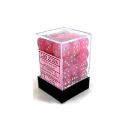 12mm D6 Dice Block (Ghostly Pink/Silver)