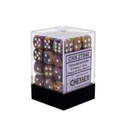 12mm D6 Dice Block (Festive Carousel w/White)