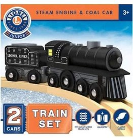 Masterpieces Puzzles & Games Steam Engine & Coal Car Set