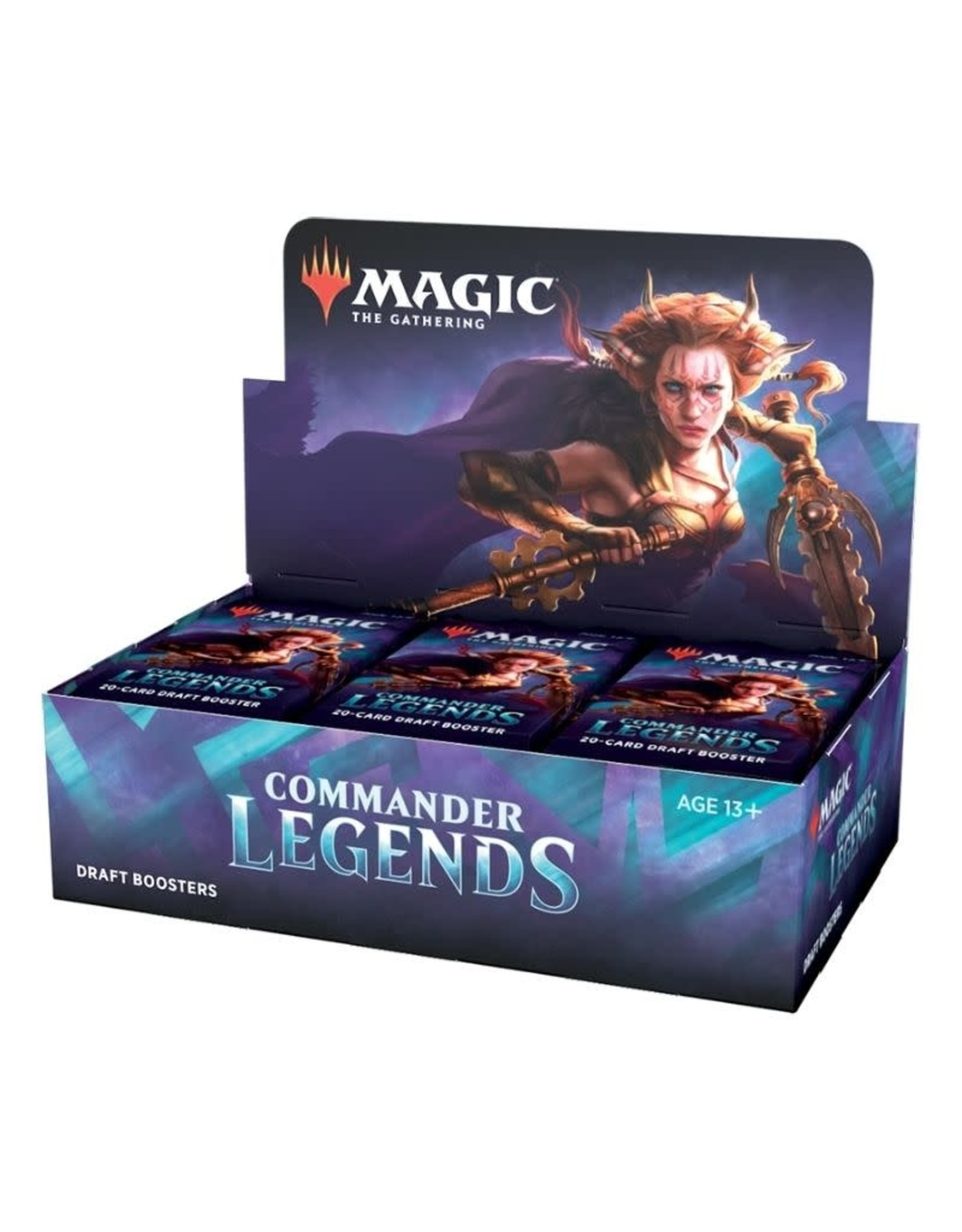 Wizards of the Coast Commander Legends Draft Booster Display