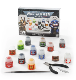Games Workshop Warhammer 40k Paint & Tool Set