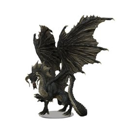 WizKids Adult Black Dragon Premium Figure