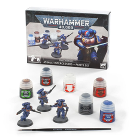 Games Workshop Warhammer 40k Space Marines Paint Set