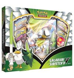 Galarian Sirfetch'd V Box Set