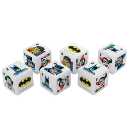 Batman Dice (6pc D6 set)