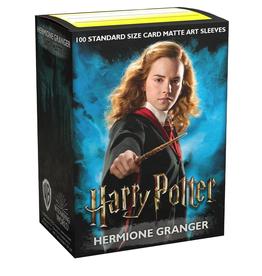 Dragon Shield sleeves (Hermione Granger Art)