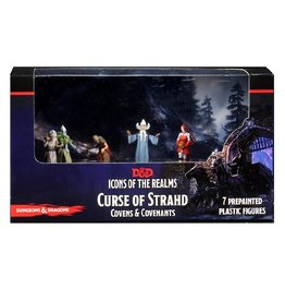 WizKids Icons of the Realms - Curse of Strahd (Covens & Covenants Premium Box Set)