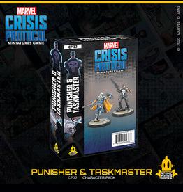 Atomic Mass Games Marvel Crisis Protocol (Punisher and Taskmaster)