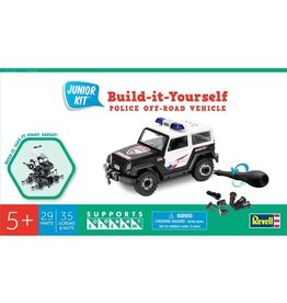 Revell Junior Kit (Build-it-Yourself Police Off-Road Vehicle)