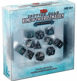 Wizards of the Coast Dice and Miscellany (Icewind Dale Rime of the Frostmaiden)