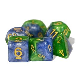 Gatekeeper Gaming Polyhedral Dice Set (Halfsies - Mother Earth)