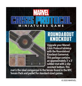 Marvel Crisis Protocol  Game Mat (Roundabout Knockout)
