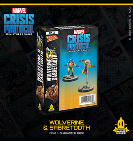 Atomic Mass Games Marvel Crisis Protocol (Wolverine and Sabertooth)