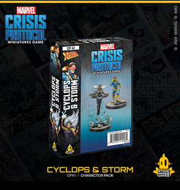 Atomic Mass Games Marvel Crisis Protocol (Cyclops and Storm)