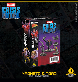 Atomic Mass Games Marvel Crisis Protocol (Magneto and Toad)