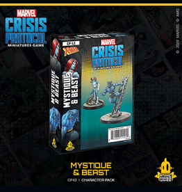 Atomic Mass Games Marvel Crisis Protocol (Mystique and Beast)