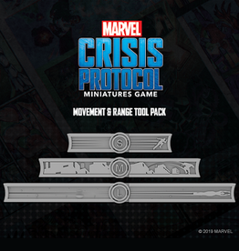Atomic Mass Games Marvel Crisis Protocol (Measurement Tools)