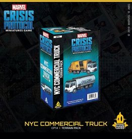 Atomic Mass Games Marvel Crisis Protocol (NYC Commercial Truck Terrain Pack)