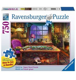 Ravensburger Puzzler's Place (750 pc EZ Grip)