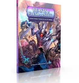 MonteCook Games Beasts of Flesh and Steel: Science-Fantasy Creatures (Sourcebook)
