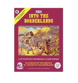 Original Adventures Reincarnated #1: Into the Borderlands (Adventure Module)
