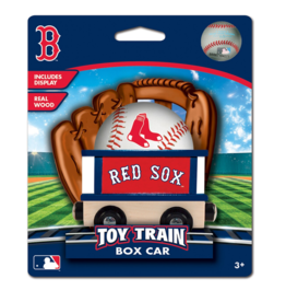 Masterpieces Puzzles & Games Toy Train Box Car - Red Sox