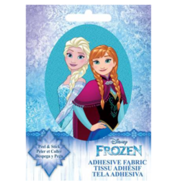 Anna & Elsa- Adhesive Fabric Patch