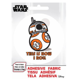 BB8 - Adhesive Fabric Patch