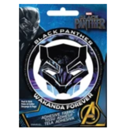 Black Panther - Adhesive Fabric Patch