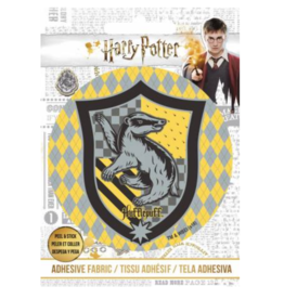 Hufflepuff - Adhesive Fabric Patch