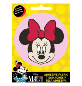 Minnie Mouse (Pink) - Fabric Adhesive Patch