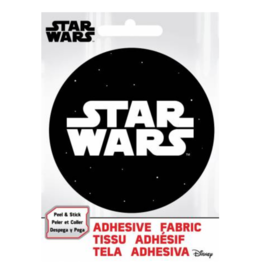 Star Wars Logo- Adhesive Fabric Patch