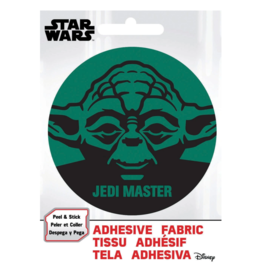 Yoda Jedi Master - Adhesive Fabric Patch