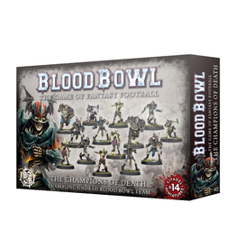 Games Workshop Blood Bowl Team (The Champions of Death)