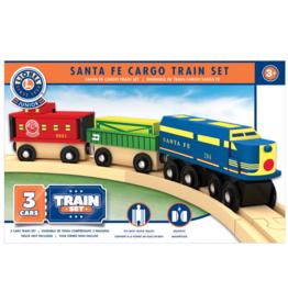 Masterpieces Puzzles & Games Santa Fe Cargo Train Set