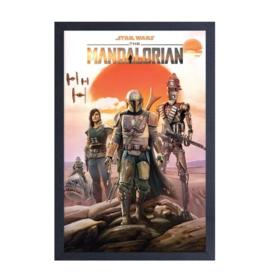The Mandalorian (Group) Canvas Art